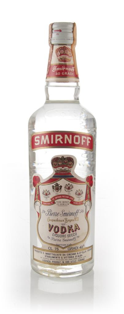 Smirnoff Red - 1970s Plain Vodka