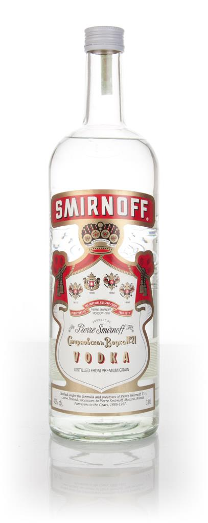 Smirnoff Red 3l - 2000s Plain Vodka