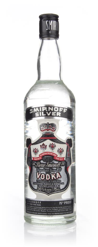 Smirnoff Silver - 1980s Plain Vodka