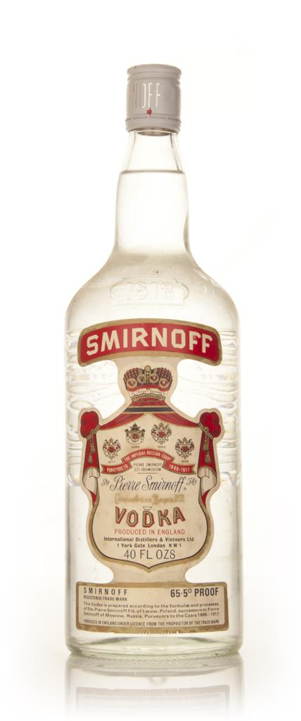 Smirnoff Vodka 1.18l - 1970s Plain Vodka