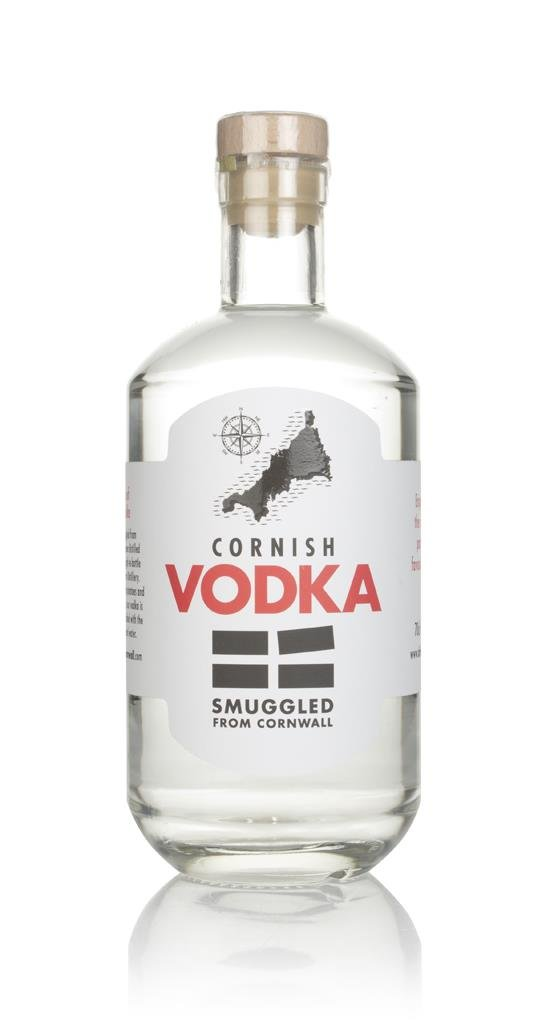 Smuggled From Cornwall Plain Vodka