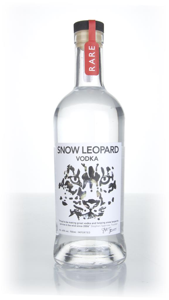 Snow Leopard Plain Vodka