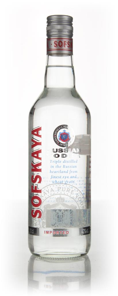 SofsKaya Russian Plain Vodka