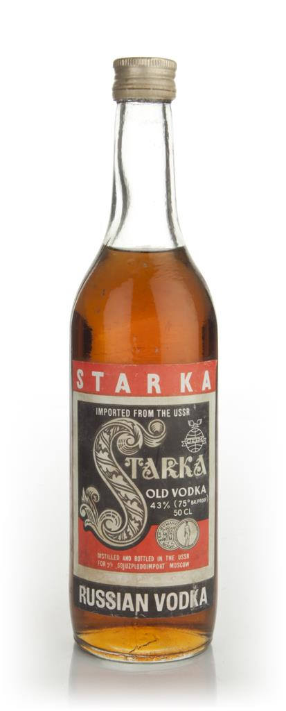 Starka Russian Vodka - 1970s Plain Vodka