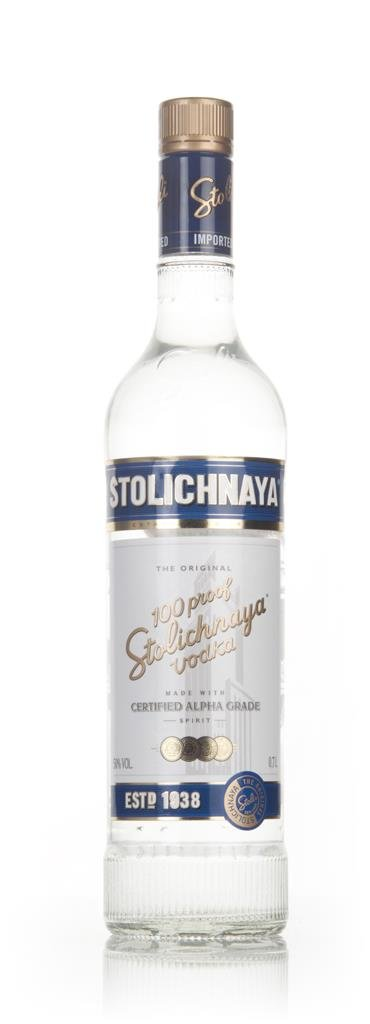 Stolichnaya Blue Plain Vodka