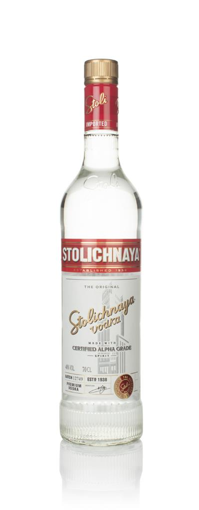 Stolichnaya Red Label Plain Vodka