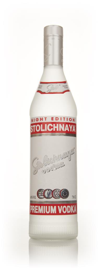 Stolichnaya Night Edition Plain Vodka