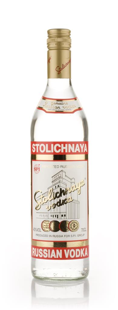 Stolichnaya Red Label 37.5% Plain Vodka