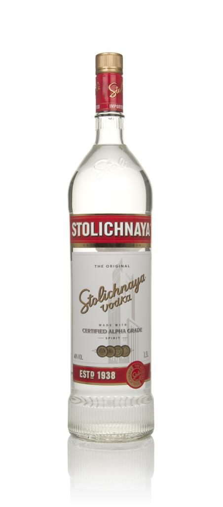 Stolichnaya Red Label - Magnum (1.5L) Plain Vodka