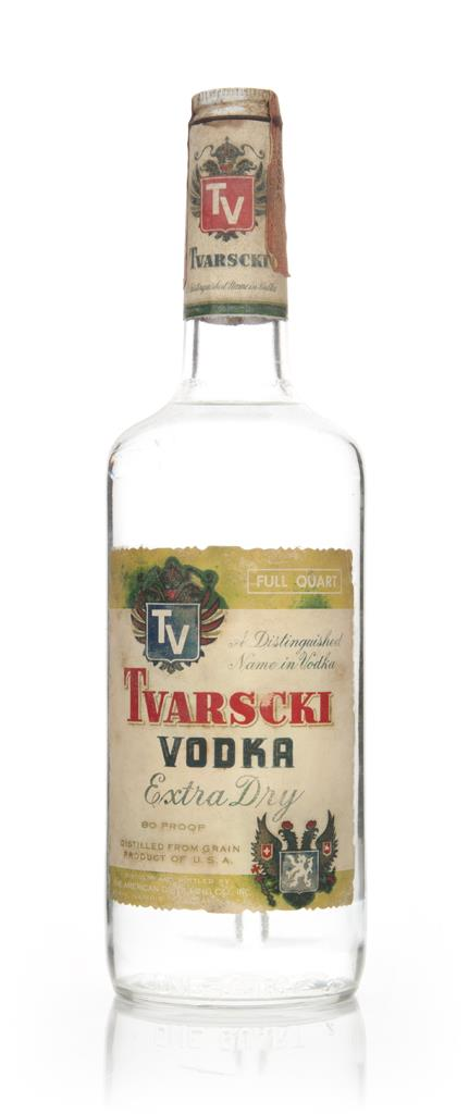 Tvarscki Extra Dry Vodka - 1963 Plain Vodka
