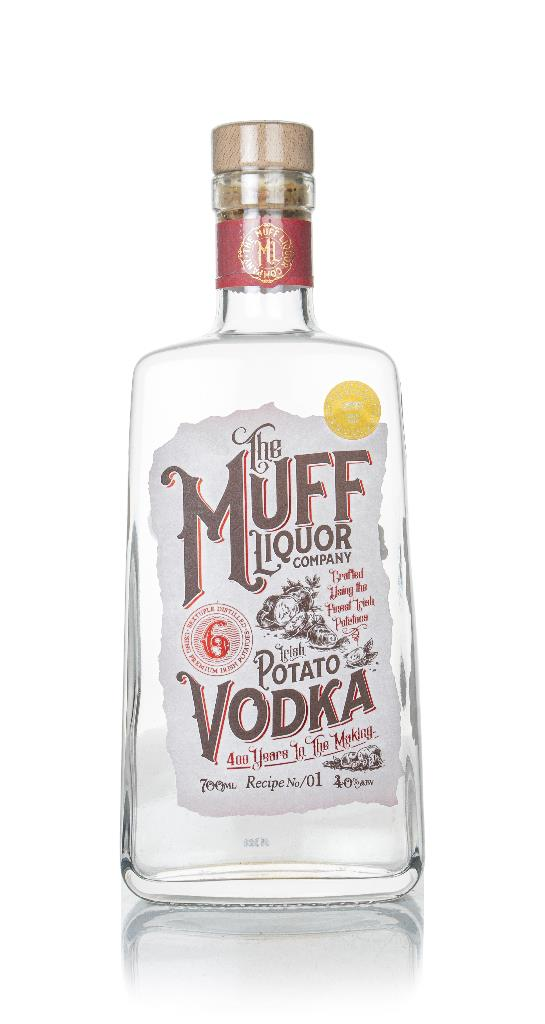 The Muff Liquor Company Irish Potato Plain Vodka