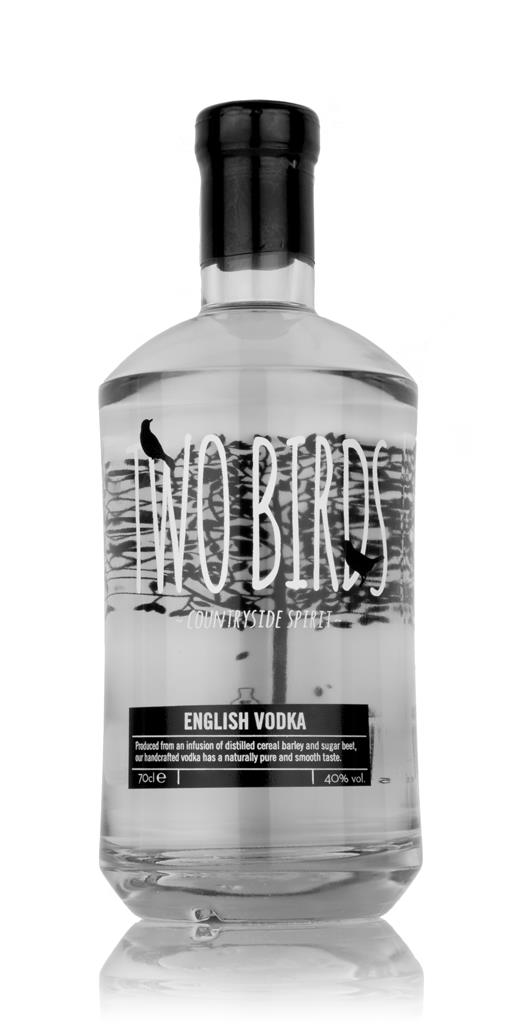 Two Birds English Plain Vodka