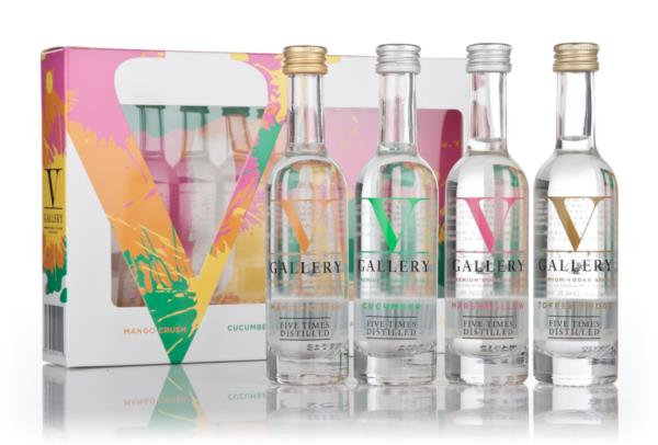 V Gallery Gift Set Flavoured Vodka