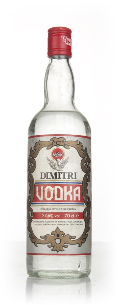 Dimitri Vodka - 1970s Plain Vodka