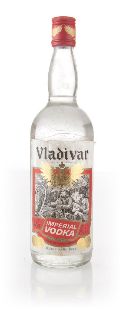 Vladivar Imperial Vodka 1970s (75.7cl) Plain Vodka