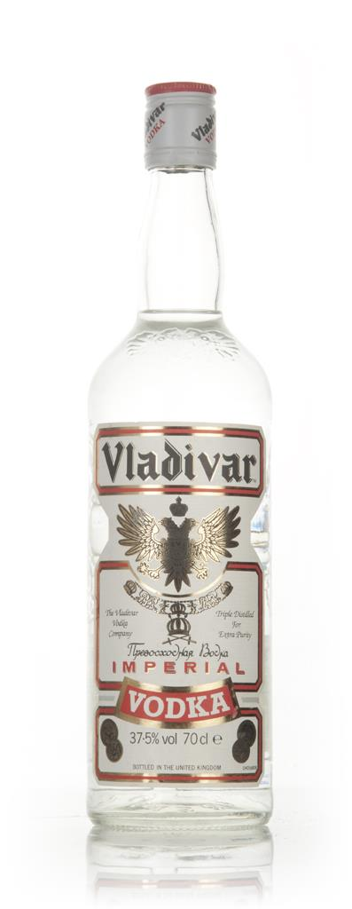 Vladivar Imperial Vodka - 1990s Plain Vodka