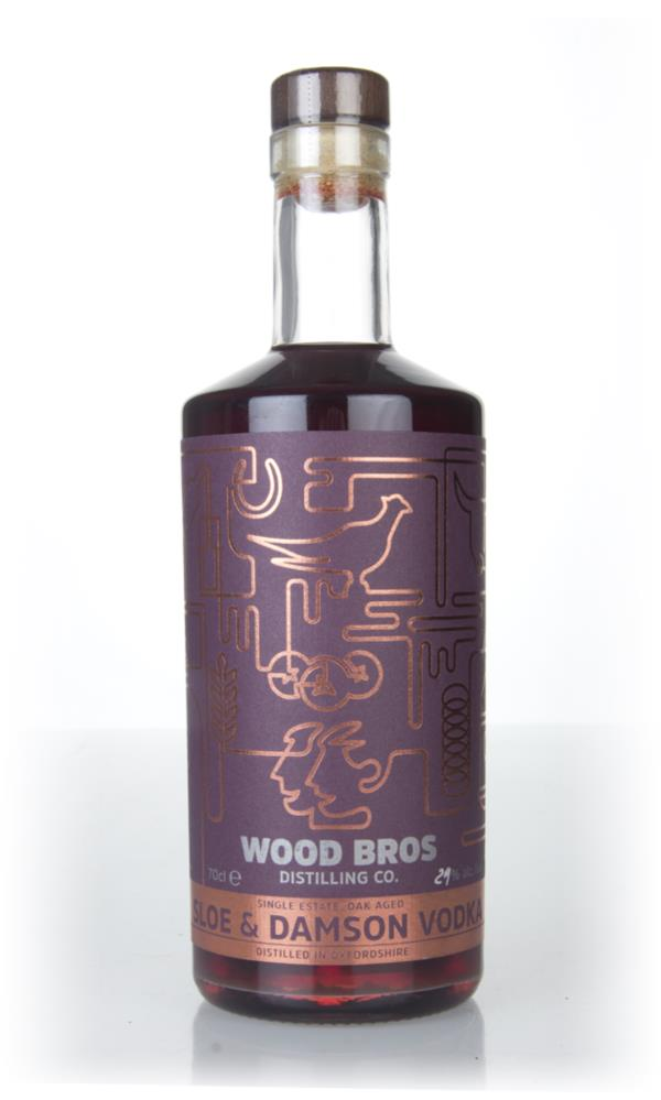 Wood Brothers Sloe and Damson Flavoured Vodka