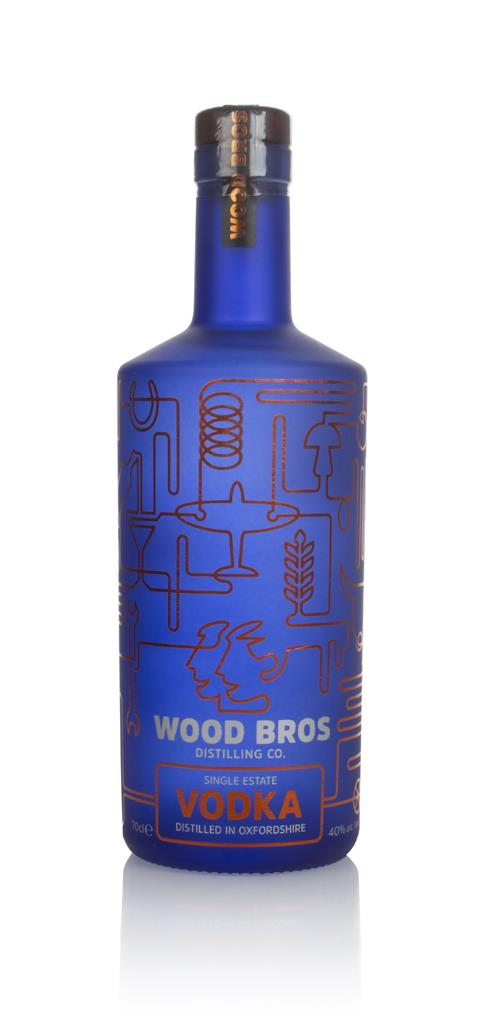 Wood Brothers Single Estate Plain Vodka