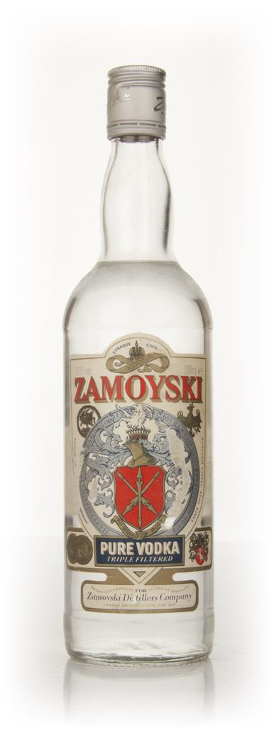 Zamoyski Vodka - early 1980s Plain Vodka