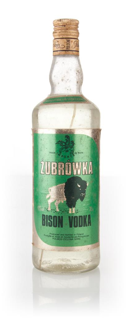 Zubrowka Bison Vodka - 1990s Flavoured Vodka