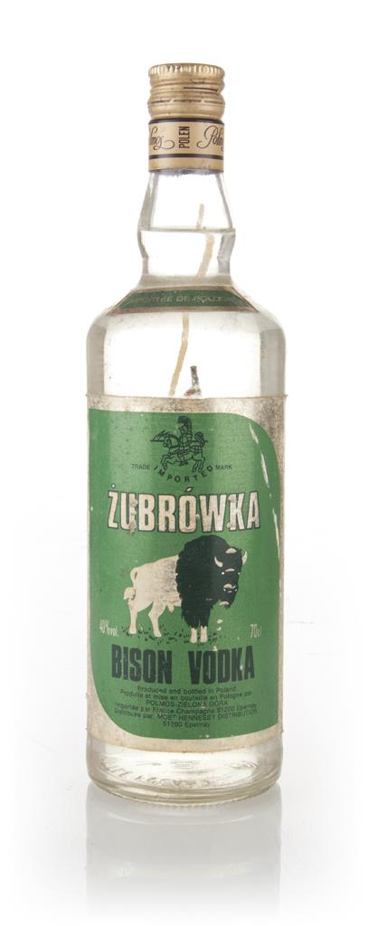 Zubrowka Bison Vodka post - 1999 Flavoured Vodka