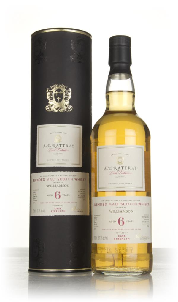 Williamson 6 Year Old 2011 (cask 130) - Cask Collection (A.D. Rattray) Blended Malt Whisky