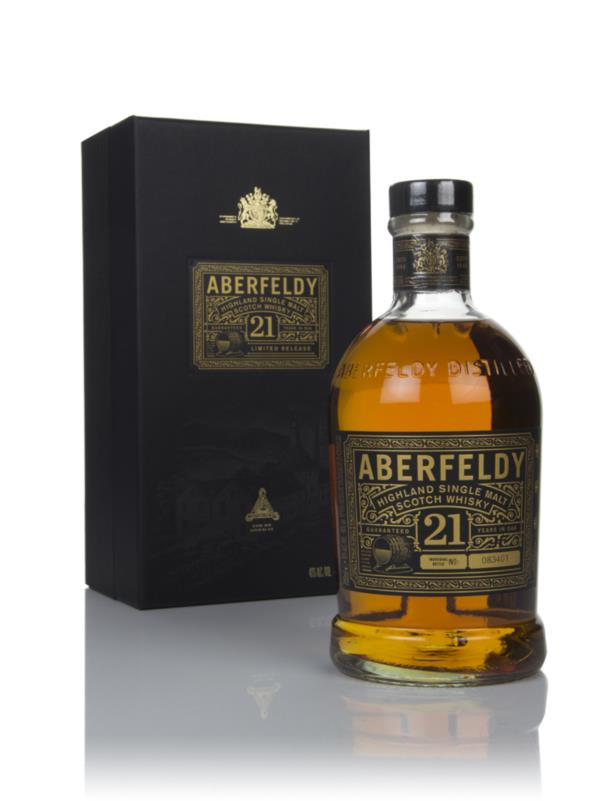 Aberfeldy 21 Year Old 3cl Sample Single Malt Whisky