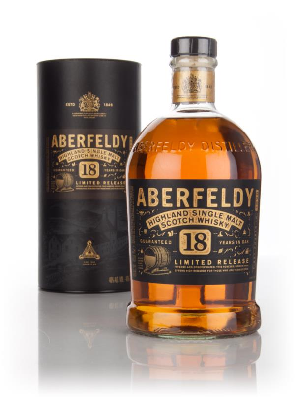 Aberfeldy 18 Year Old 1l Single Malt Whisky