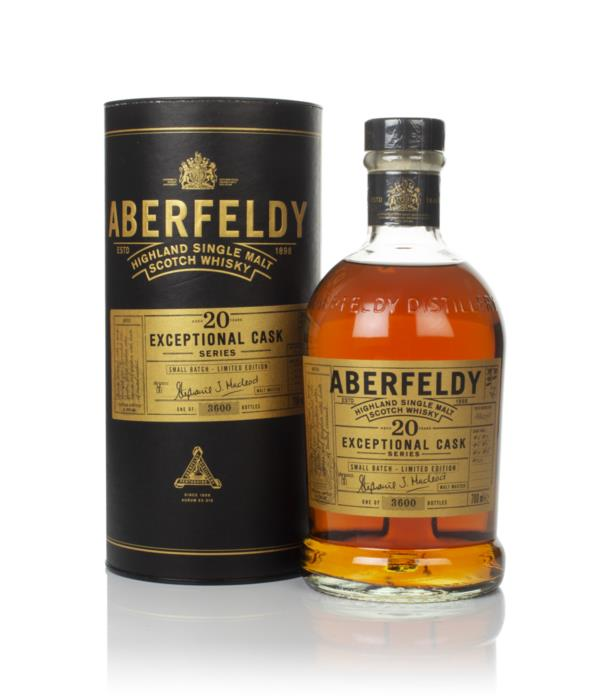 Aberfeldy 20 Year Old 1998 - Exceptional Cask Series Single Malt Whisky