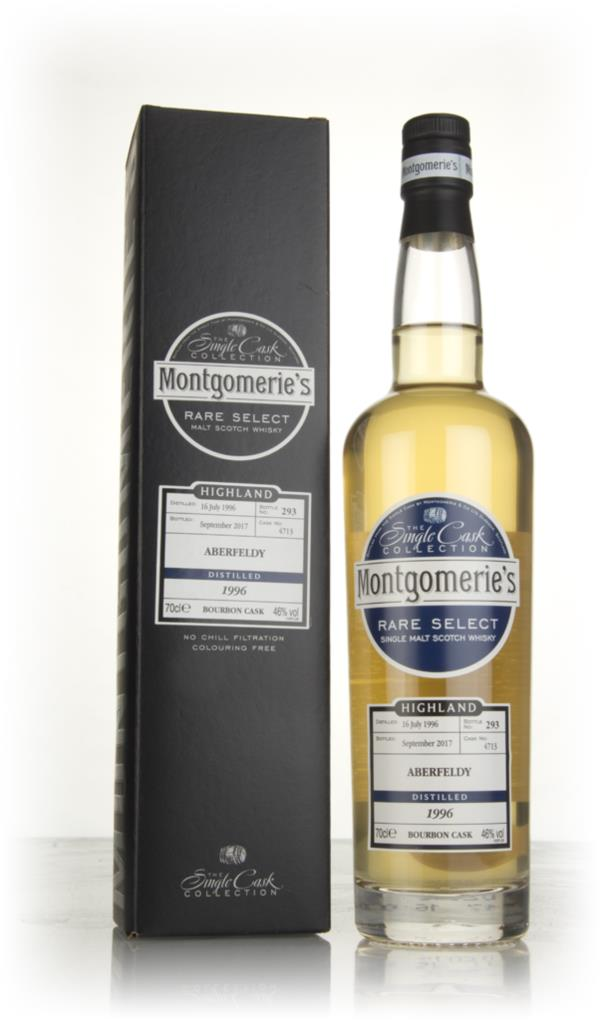 Aberfeldy 21 Year Old 1996 (cask 4713) - Rare Select (Montgomerie's) Single Malt Whisky