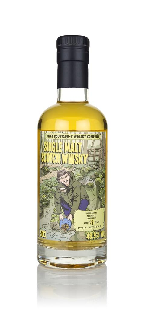Aberfeldy 21 Year Old (That Boutique-y Whisky Company) 3cl Sample Single Malt Whisky