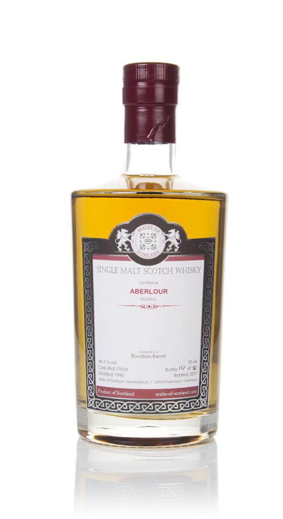 Aberlour 1990 (bottled 2017) (cask 17034) - Malts of Scotland Single Malt Whisky