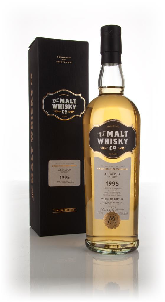 Aberlour 20 Year Old 1995 (The Malt Whisky Company) Single Malt Whisky