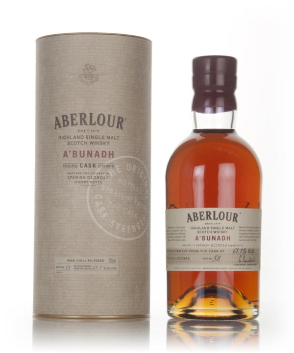 Aberlour ABunadh Batch 58 Single Malt Whisky