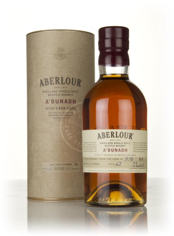 Aberlour ABunadh Batch 62 Single Malt Whisky