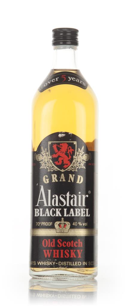 Grand Alastair 5 Year Old Black Label - 1980s Blended Whisky