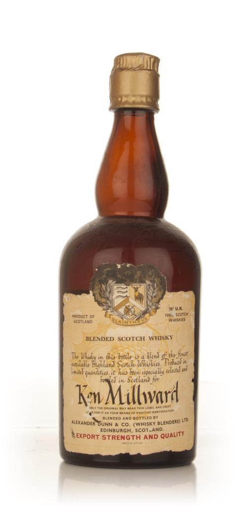 Alexander Dunn Slaintheva Blended Scotch Whisky - Ken Millward - 1960s Blended Whisky