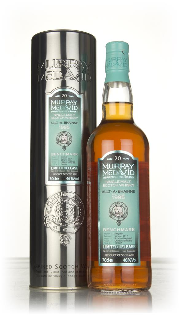 Allt-a-Bhainne 20 Year Old 1995 (cask 130002) - Benchmark (Murray McDa Single Malt Whisky