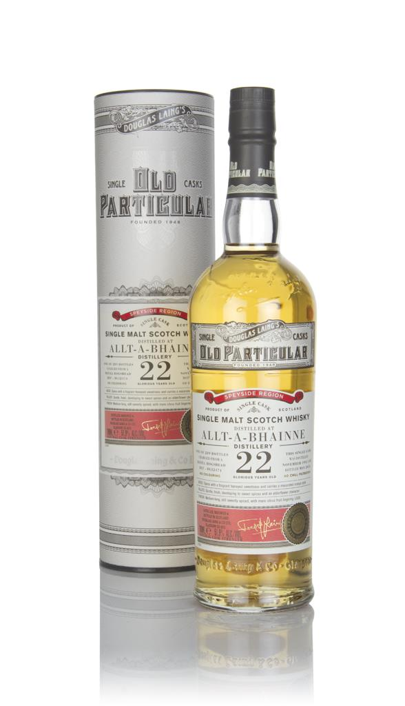 Allt-a-Bhainne 22 Year Old 1995 (cask 12474) - Old Particular (Douglas Single Malt Whisky