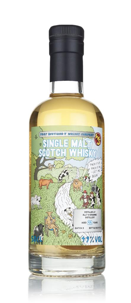 Allt-a-Bhainne 22 Year Old - Batch 3 (That Boutique-y Whisky Company) Single Malt Whisky 3cl Sample
