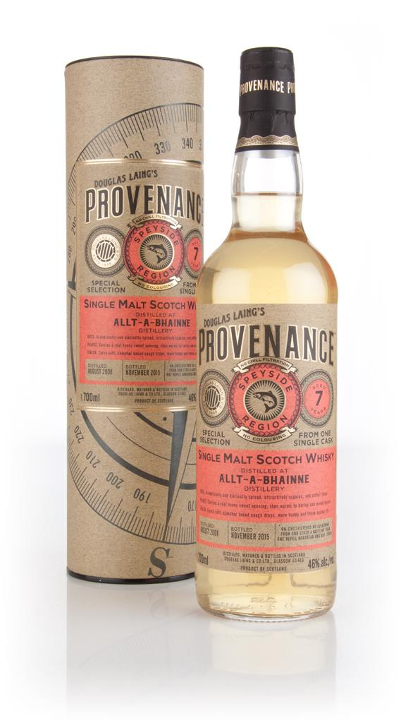 Allt-a-Bhainne 7 Year Old 2008 (cask 10985) - Provenance (Douglas Lain Single Malt Whisky