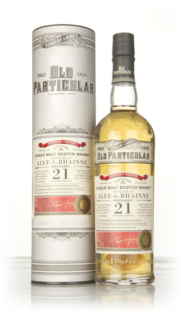 Allt-a-Bhainne 21 Year Old 1995 (cask 12038) - Old Particular (Douglas Single Malt Whisky