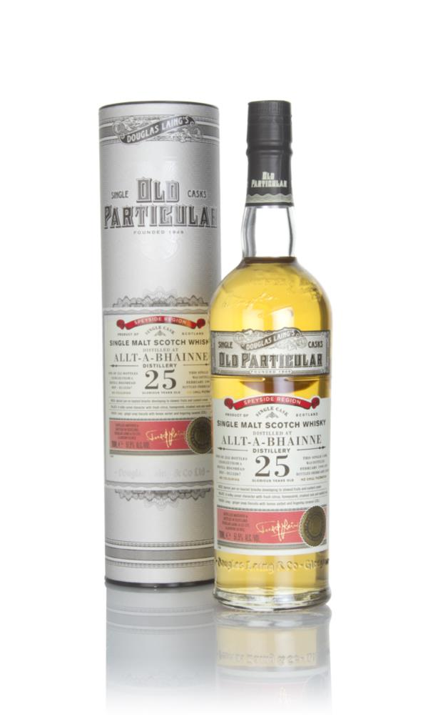 Allt-a-Bhainne 25 Year Old 1993 (cask 12267) - Old Particular (Douglas Single Malt Whisky