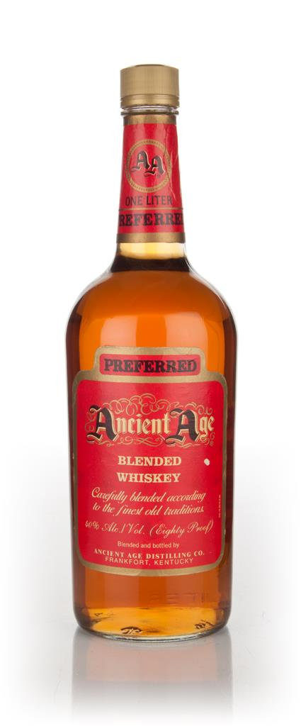Ancient Age Preferred Blended Whiskey - 1980s Blended Whiskey