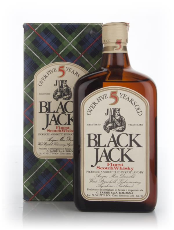Black Jack 5 Year Old - 1970s (with box) Blended Whisky