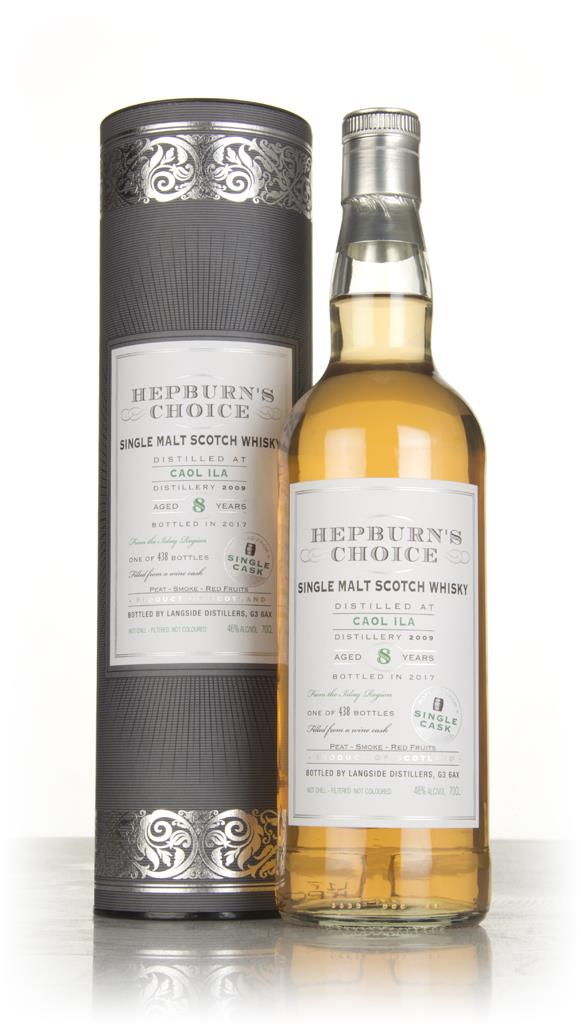 Caol Ila 8 Year Old 2009 - Hepburns Choice (Langside) Single Malt Whisky