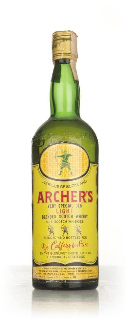 Archers Very Special Old Light - 1970s Blended Whisky