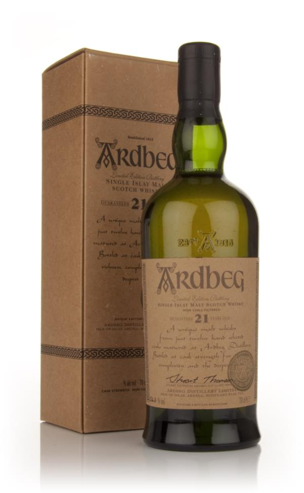 Ardbeg 21 Year Old (Committee Release) Single Malt Whisky