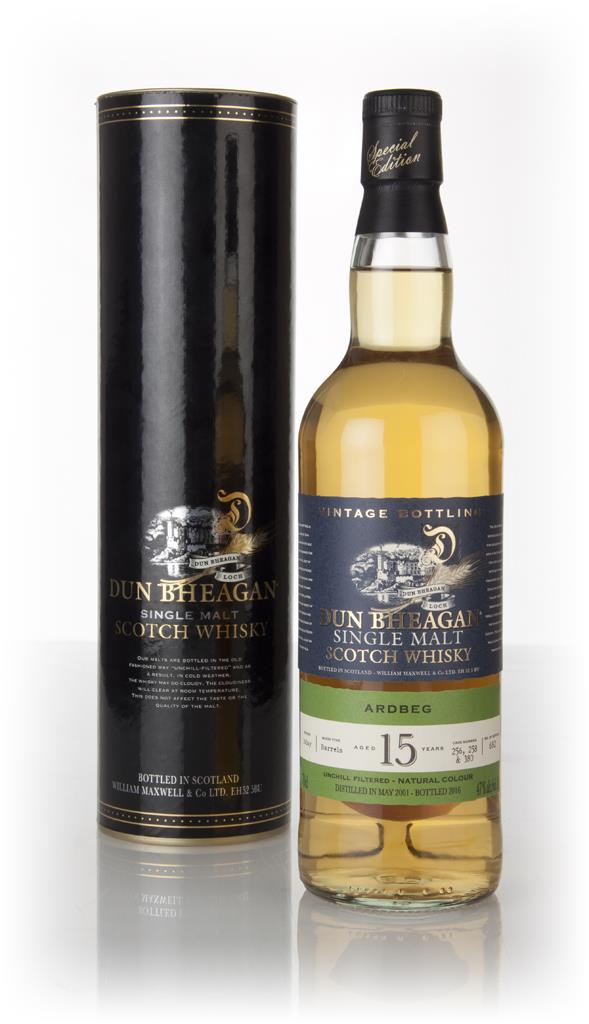 Ardbeg 15 Year Old 2001 (casks 256, 258 & 380) - Dun Bheagan (Ian Macl Single Malt Whisky