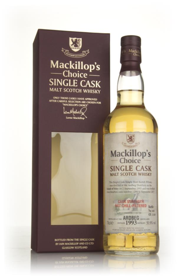 Ardbeg 1993 (cask 1290) (bottled 2017) - Mackillops Choice Single Malt Whisky